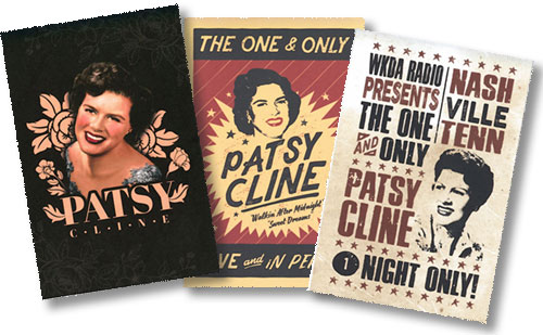 Pasty Cline Postcards