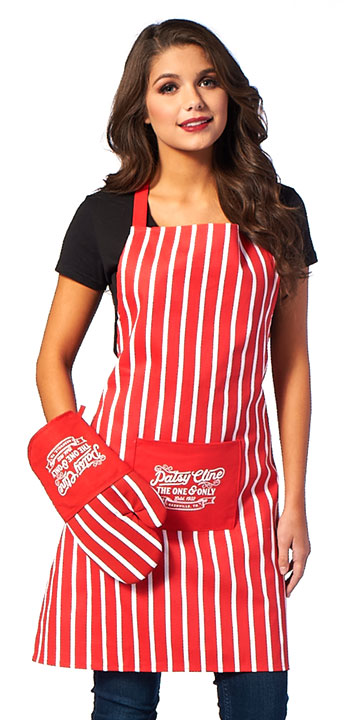 Patsy Cline One and Only Red Apron