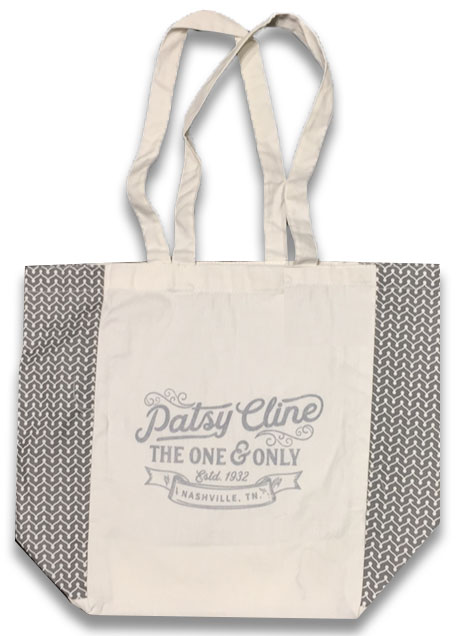 Patsy Cline One and Only Cotton Tote