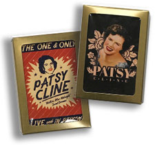 Patsy Cline Retro Playing Cards