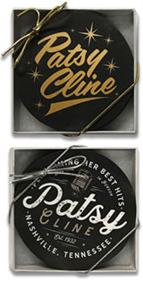 Patsy Cline Set of 4 Coasters