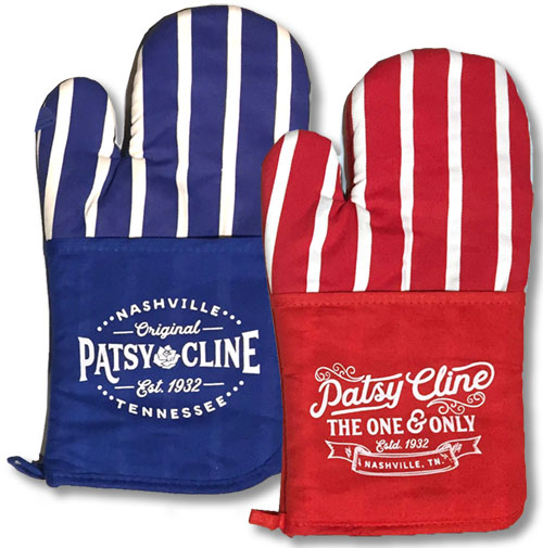 Patsy Cline Oven Mitts