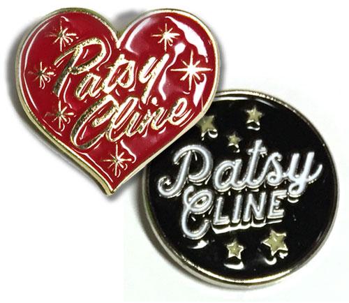 Patsy Cline Enamel Pins