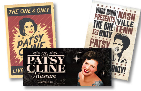 Patsy Cline Stickers