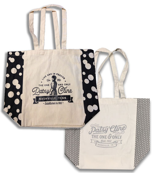 Patsy Cline Cotton Totes