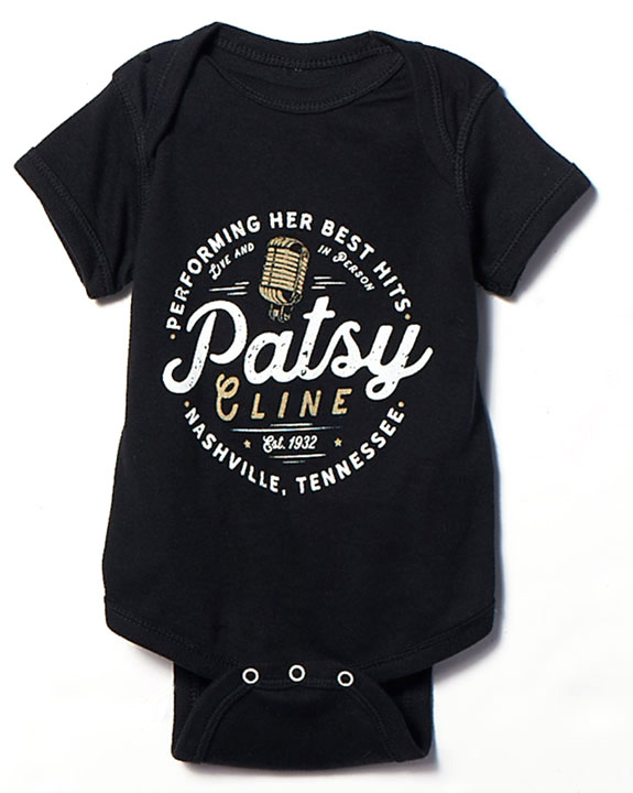 Patsy Cline Performing Her Hits Onesie