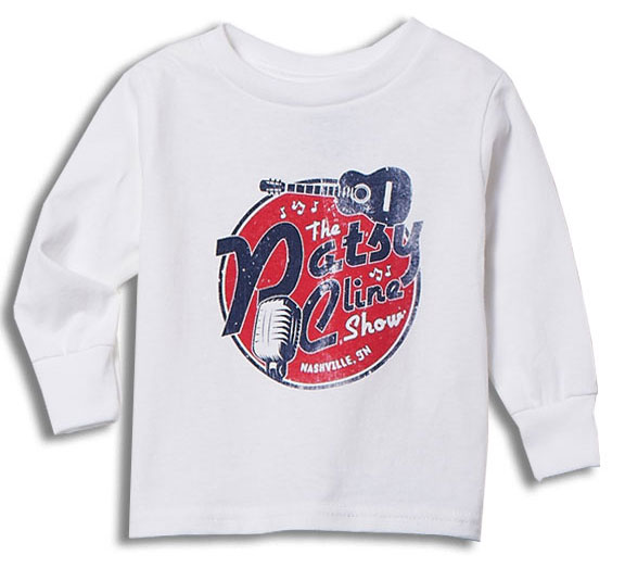 Patsy Cline Show White Toddler Tee