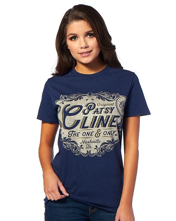Patsy Cline Est. 1932 Blue Crew