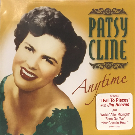 Patsy Cline Anytime CD