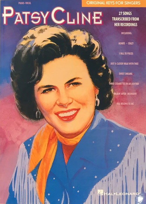 Patsy Cline – Original Keys for Singers Songbook