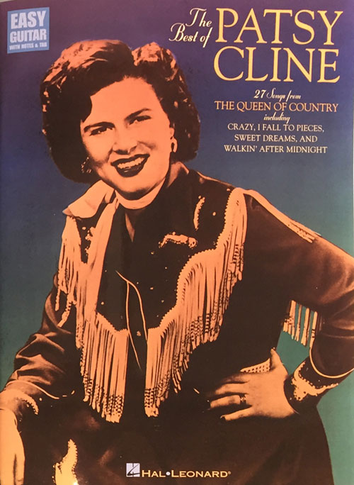 The Best of Patsy Cline Easy Guitar Series Songbook