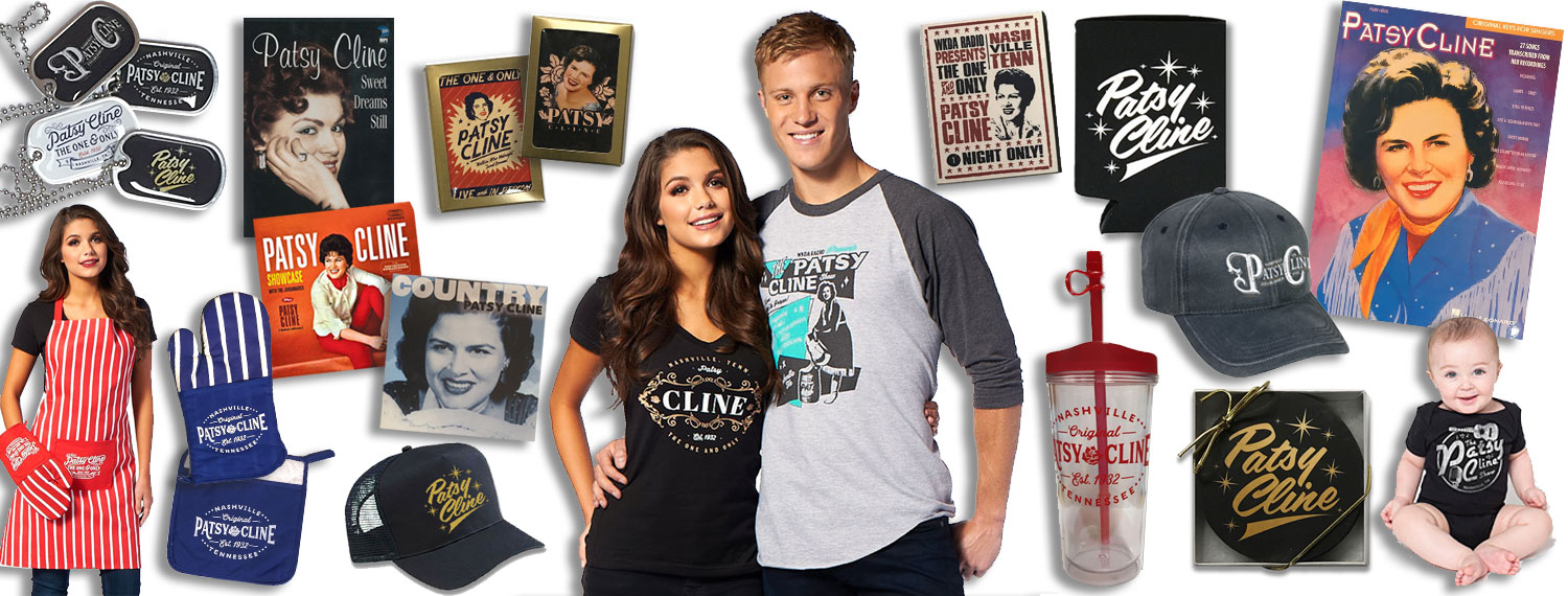 Patsy Cline Official Store Merchandise